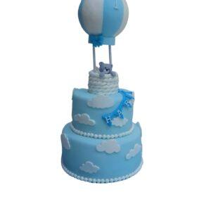 Up Up & Away Teddy Cake